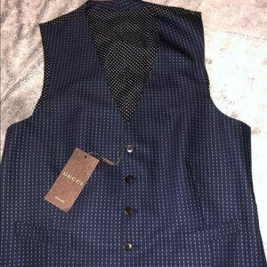 Gucci Mens Wool Vest Size 52R/42R NWT